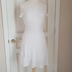 Victoria Secret White Lace Daisy Dress